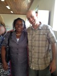 Peris and Me reuniting in Uganda!