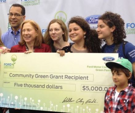 AGC Ford Green Grant Check