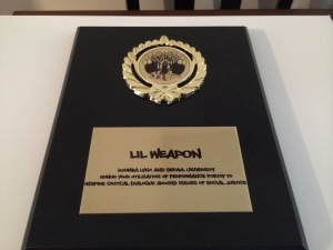 3rd Rail Writers Award