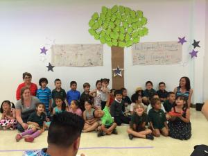 end of year kinder celebration of learning