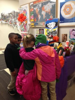 Students share important feelings about loss.