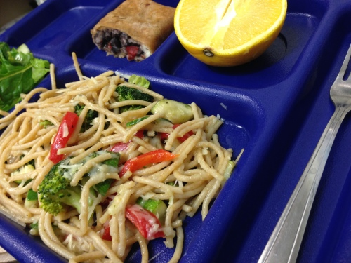 meatless monday lunch 2014