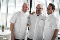 Giuseppe Tentori, Chris Pandel, Lee Wolen (Left to Right) Photo Credit Galdones Photography