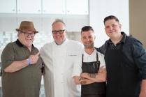 John Hogan, Tony Mantuano, Erik Freeberg, Joe Flamm (left to right) Photo Credit Galdones Photography.00