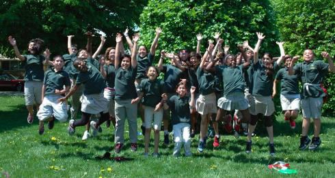 Jumping Students